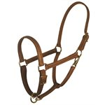 "7 / 8"" HORSE CHESTNUT VALUE WORK HALTER"