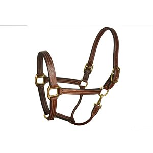 LEATHER STABLE HALTER