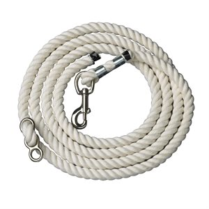 WHITE COTTON NECK ROPE