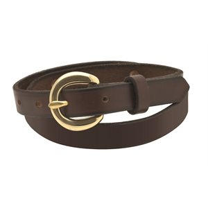 "3 / 4"" LEATHER BELT - CLOSEOUT"