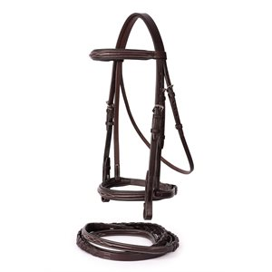 PROFESSIONAL FANCY STITCHED BRIDLE