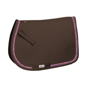 ALL PURPOSE SPARKLE RIBBON SADDLE PAD