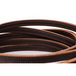 8' SLOT END DOUBLE STITCHED WESTERN REINS